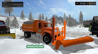 Какой техникой убрать снег в FS 17