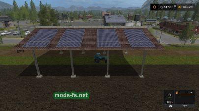Солнечные батареи для Farming Simulator 2017