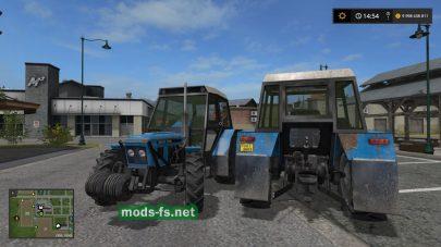 Мод трактора ZETOR 7045