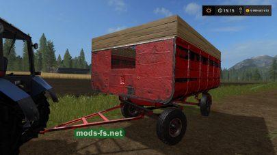 Мод фургона 2ПТС-4