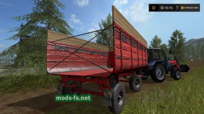 Русский прицеп 2ПТС-4 для FS 17