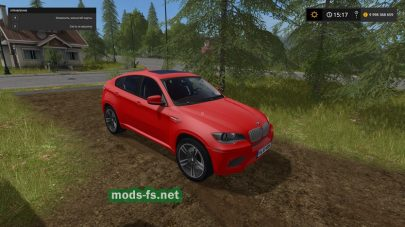 Мод внедорожника BMW для Farming Simulator 2017
