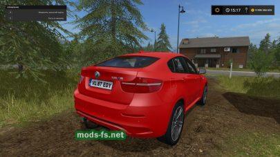 BMW X6 для Farming Simulator 2017