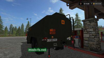 Грузовик для перевозки топлива в FS 17