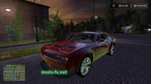 Мод на Dodge Challenger SRT
