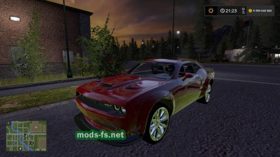 Мод на Dodge Challenger SRT