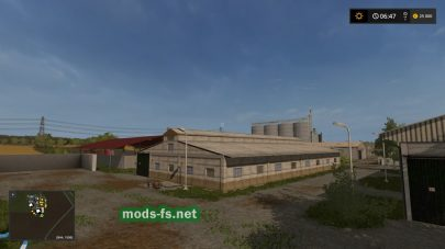 Скриншот карты Agro Gorale