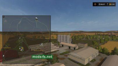 Схема карты Agro Gorale