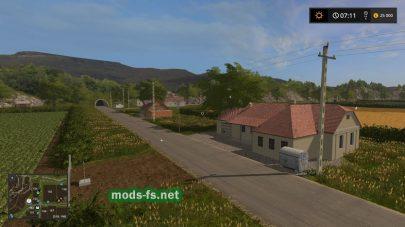 Дороги и дома на карет Agropontino в FS17