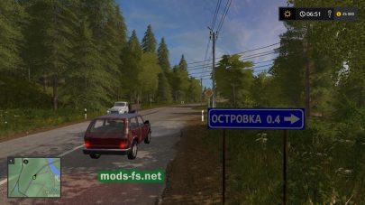 Карта Molokovo для FS 17