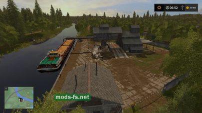 Порт на карте Molokovo