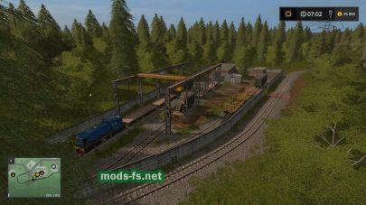 Железная дорога в FS 17