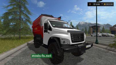 GAZ Next mods