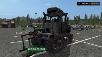 Скриншот мода HTZ T-150 CRAWLER