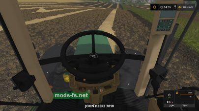Мод трактора John Deere 7010 CGJ