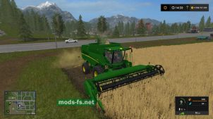 John Deere 625R mods