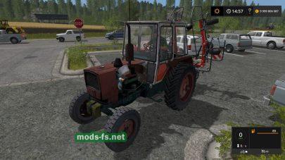 Мод на трактор ЮМЗ