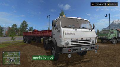 Мод на пак грузовиков КамАЗ