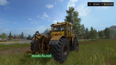 Мод трактора Kirovets