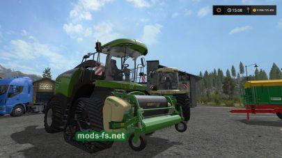 KRONE BIG X 480-630 mods