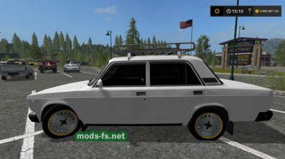 lada 2107 mods