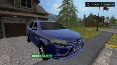 Лада Веста для Farming Simulator 2017