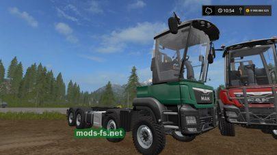 Мод грузовика MAN Extension