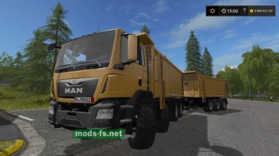Мод грузовика MAN TGS 41.440