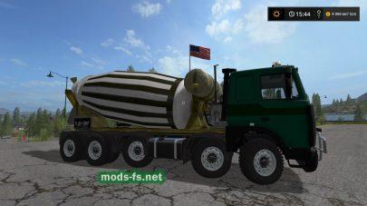 Мод грузовика МАЗ Миксер
