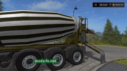 maz concrete mixer FS 17