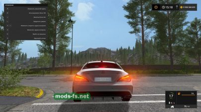 Мод Mercedes Benz CLA 45 AMG для FS 17