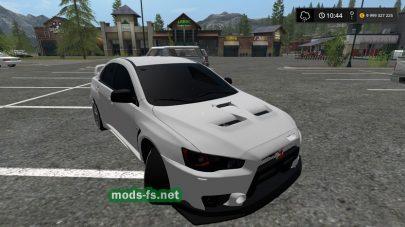 Mitsubishi Lancer EVO для FS 17