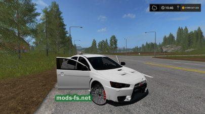 Mitsubishi Lancer EVO mods
