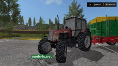 MTZ-1221 mods