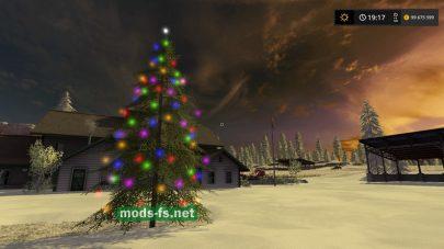 Мод елки для FS 17