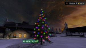 Placeable Christmas Tree mods
