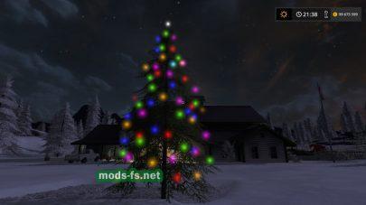 Christmas Tree для FS 17