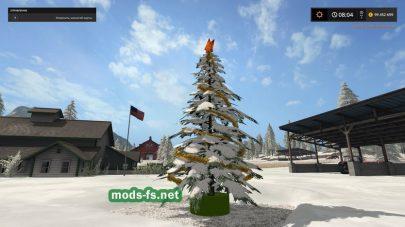 Christmas Tree: мод для FS 17