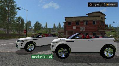 Скриншот мода Range Rover