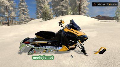 Мод снегохода Snowmobile Ski Doo