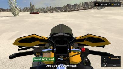 Snowmobile Ski Doo для Farming Simulator 2017