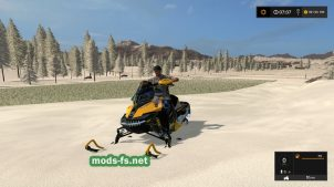 Snowmobile Ski Doo FS 17