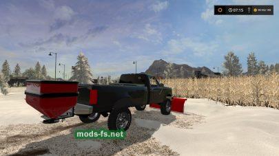 Мод легковых автомобилей для уборки снега в игре