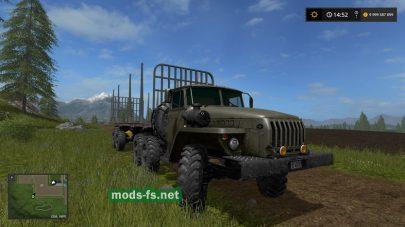 Пак на УРАЛ Farming Simulator 2017