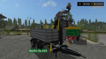 Мод на Fliegl Timber Trailer