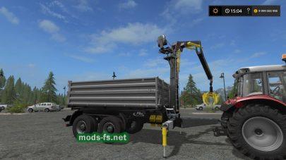 Модификация прицепа Fliegl Timber