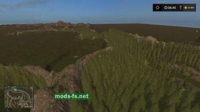 Леса на карте Team Sardegna Forestry – Season Ready