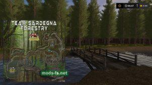 Загрузка карты Team Sardegna Forestry
