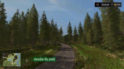 Дороги на карте Green Valley