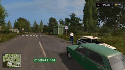 Трафик в игре FS 2017